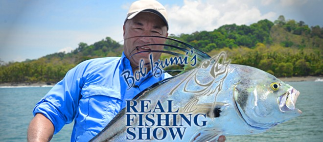 <h3>New Season of Real Fishing</h3><p> Bob Izumi's Real Fishing Show kicks off the New Year with a brand new season of great fishing adventures. From ice fishing for lake trout on Lake Simcoe to tackling roosterfish ...</p>