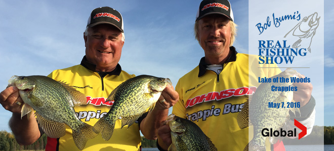 Lake of the Woods Crappies