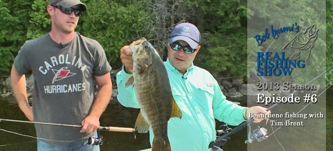 Beauchene fishing with Tim Brent
