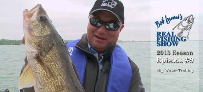 Big Water Walleye Trolling