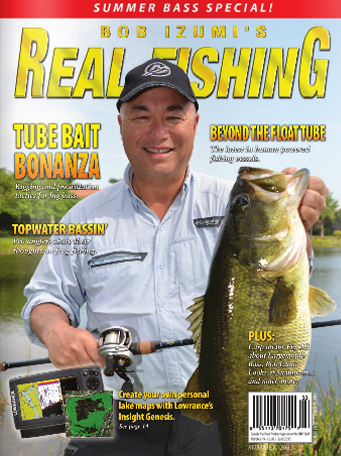 Real Fishing Magazine – Summer 2013