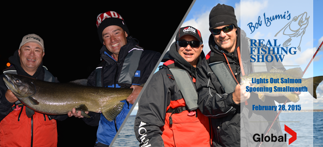 Lights Out Salmon//Spooning Smallmouth