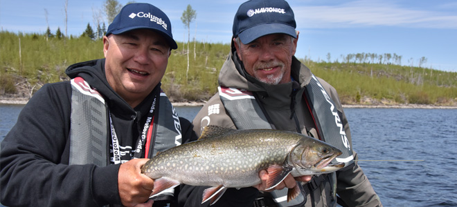 Lake Nipigon Big Brookies
